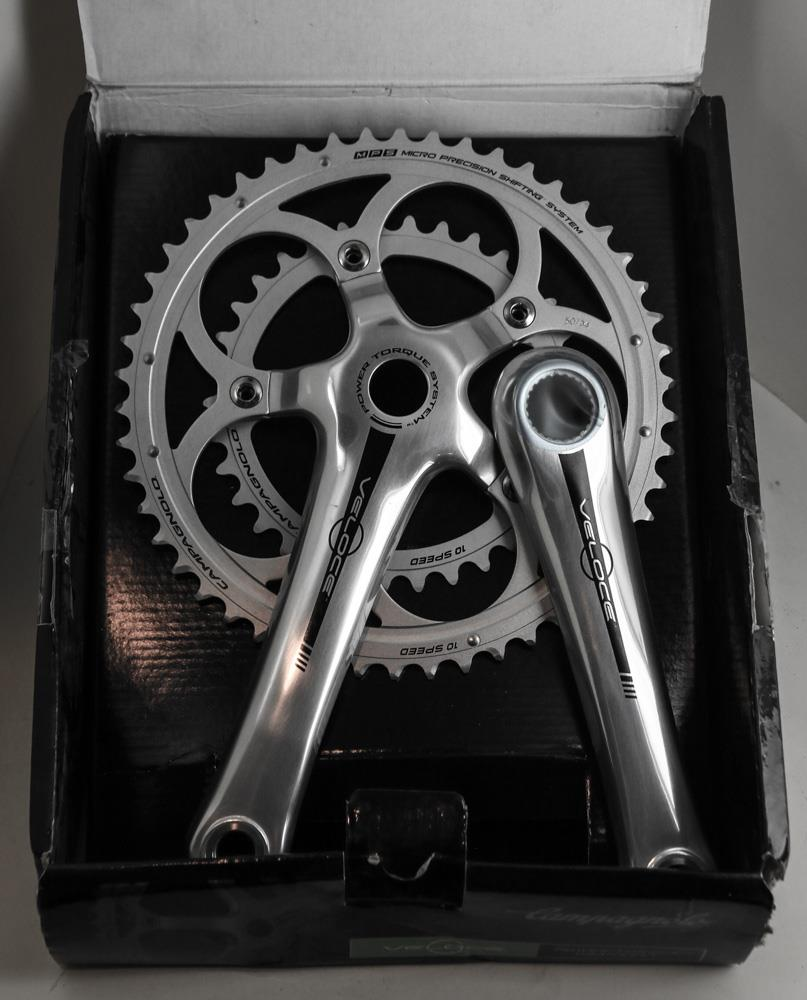 Campagnolo Campy Veloce Power Torque Road Bike Compact Crankset 50/34 170mm NEW