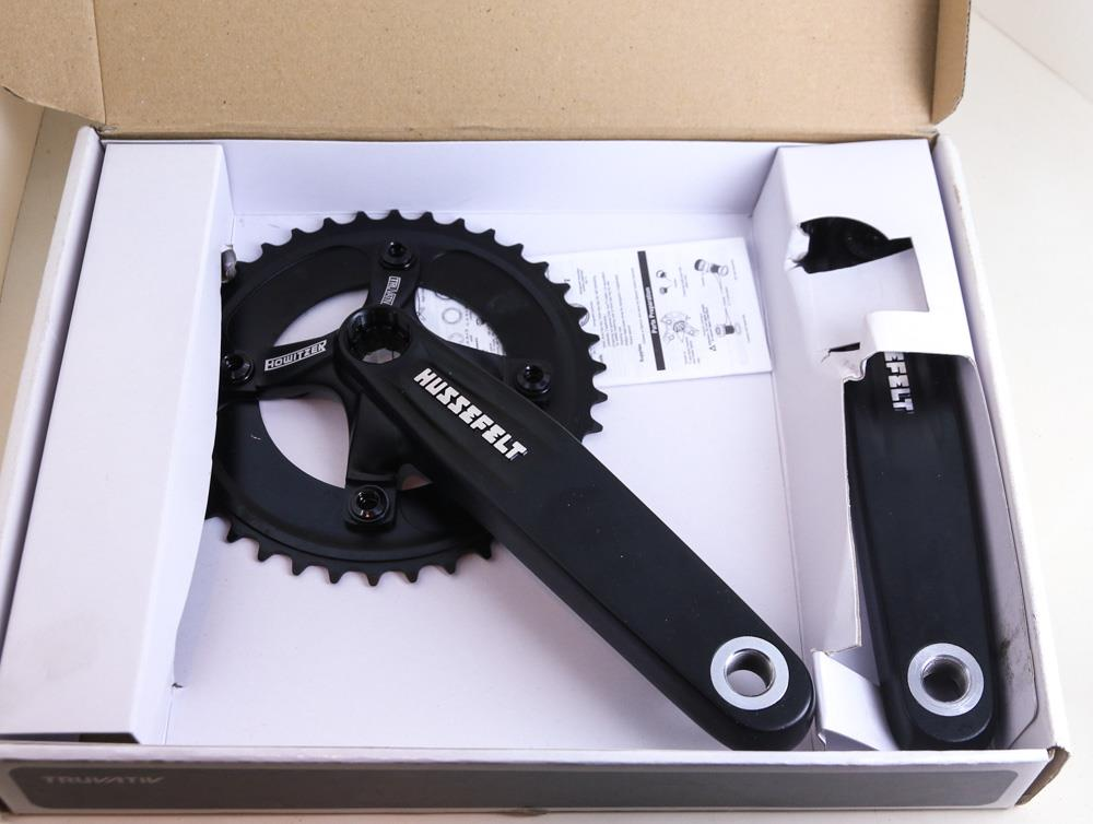 Truvativ Hussefelt 38t Downhill MTB Bike Crankset ISIS Spline 170mm NEW