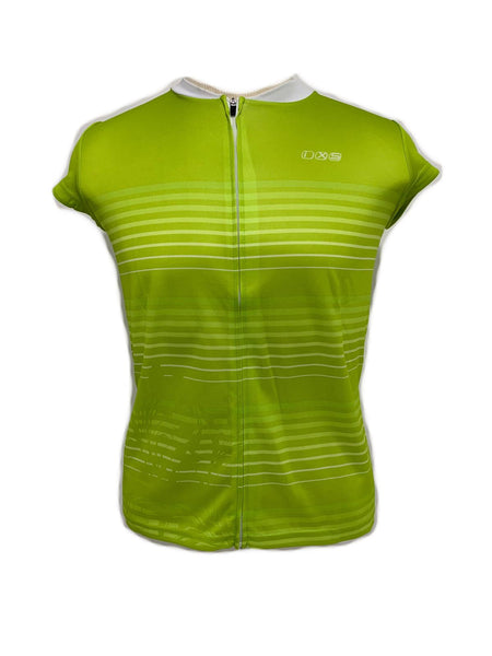 iXS Amabel Women's Cycling Bike Bicycle Jersey Lime 42 Large New