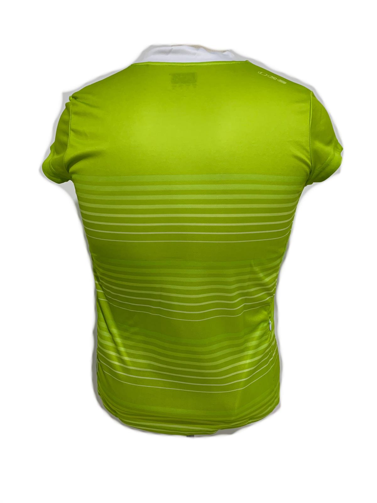 iXS Amabel Women's Cycling Bike Bicycle Jersey Lime 40 Medium New