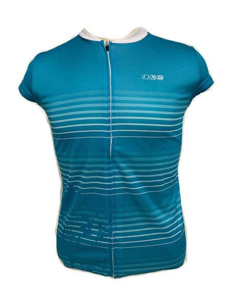 iXS Amabel Women's Cycling Bike Bicycle Jersey Teal 42 Large New