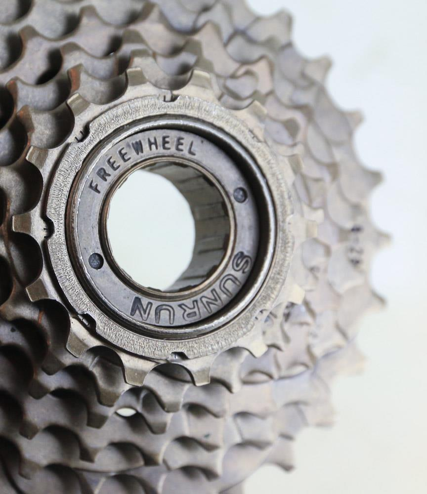 Sunrun 6 Speed Freewheel 14-28T MTB Hybrid Bike Cogs Gears NEW