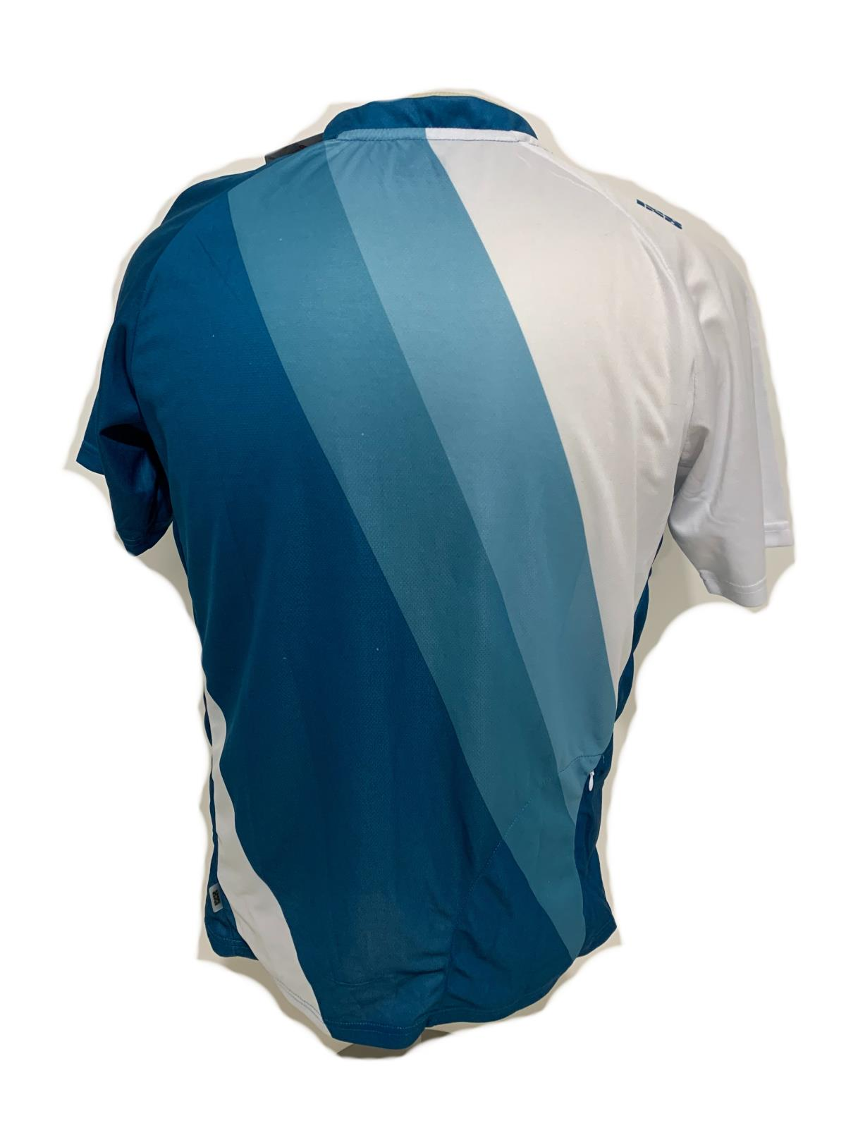 iXS Levada Trail Cycling Bike Bicycling Mens Jersey Blue LG Large New