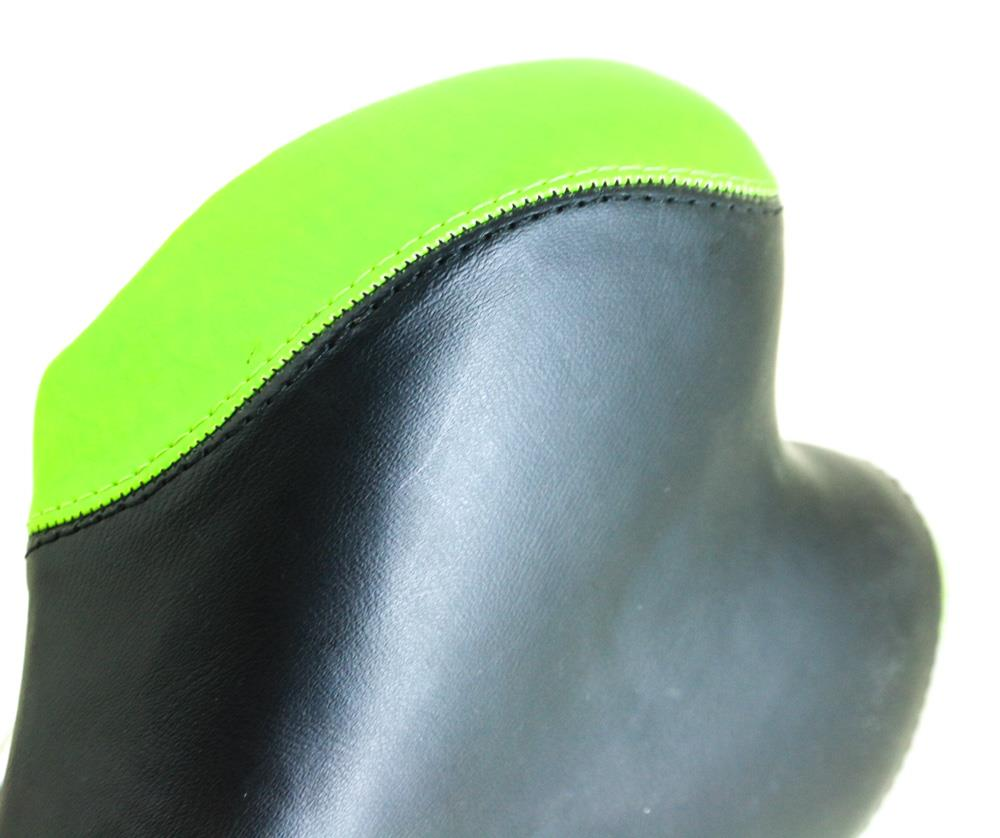 SUNDEAL Hybrid / MTB Bike Saddle Seat Black / Green 280 x 160mm NEW