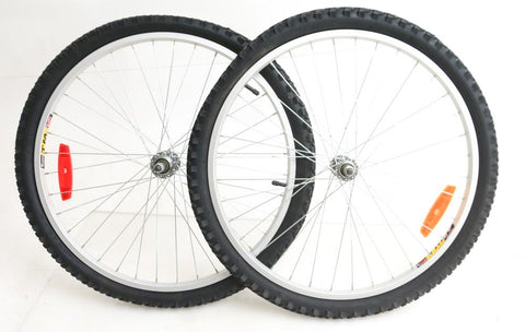 "24"" TM19 Kids Bike Wheelset, Freewheel Compatible with Duro 24 x 1.95 Tires NEW"