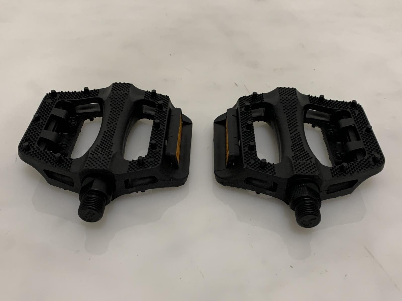 "FPO RESIN PLATFORM 9/16"" MTB Bike Bicycle Cycle PEDALS NEW"