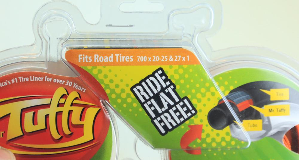 Mr. Tuffy Red 700c x 28-32 Bicycle Tire Liners Flat Resistant Protection NEW