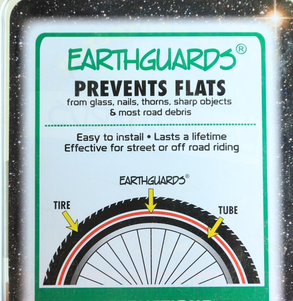 "EarthGuards 20 x 1.75-2.35"" BMX Recumbent Bicycle Tire Liners Flat Resistant NEW"