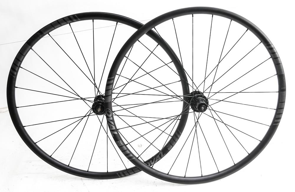 Oval Concepts 524 Disc 700c Cyclocross CX Road Bike Wheelset Missing Axle Piece