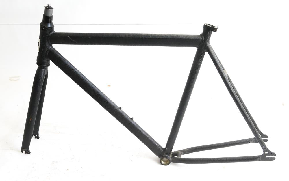 59cm Evo Slay Fixed / Single Speed Bike Frame Aluminum 700c Black New Blem