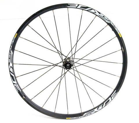 "MAVIC Crossride 26"" MTB Bike Front Wheel 15mm x 100mm Through Axle Disc NEW"