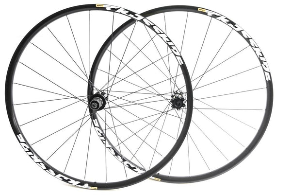 Mavic Crossride 29er MTB Bike Wheelset Shimano 8-11s QR / 15mm Thru NEW