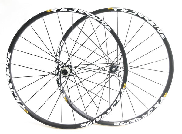 MAVIC Crossride 29er MTB Bike Wheelset 15mm / 12mm Thru Shimano 8-11s NEW