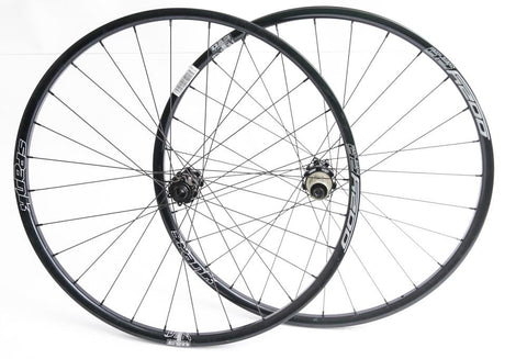 "SPANK OOZY 26 27.5"" 650b MTB Bike Wheelset 12 x 142 / 15 x 100 Thru Axle NEW"