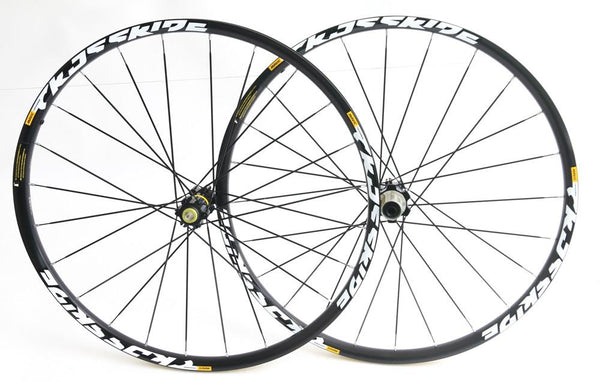 "Mavic Crossride 27.5"" 650B MTB Bike Wheelset Shimano 8-11s 12/15mm Thru NEW"