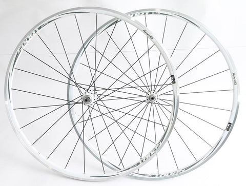 XERO Sport Entity 700C Road Bike Wheelset White 8-10 Speed Cassette New