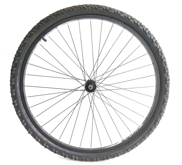 "Vera 26"" Front MTB Bike Wheel QR Disc Aluminum Rim + Tire NEW Blem"