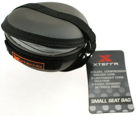 Lot of 10 XTERRA Small Bike Bicycle Seat Bag Case with Universal Strap Zip NEW