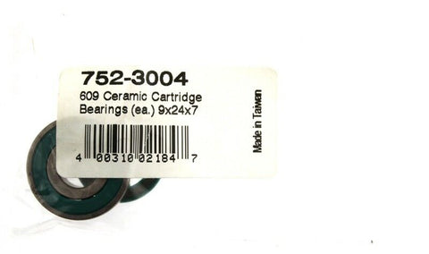 FSA 609 Bike Ceramic Cartridge Bearings 9 x 24 x 7 752-3004 4.0031E+11 NEW