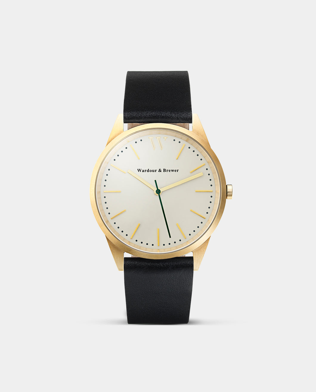 The Original 40mm Gold - Black Leather