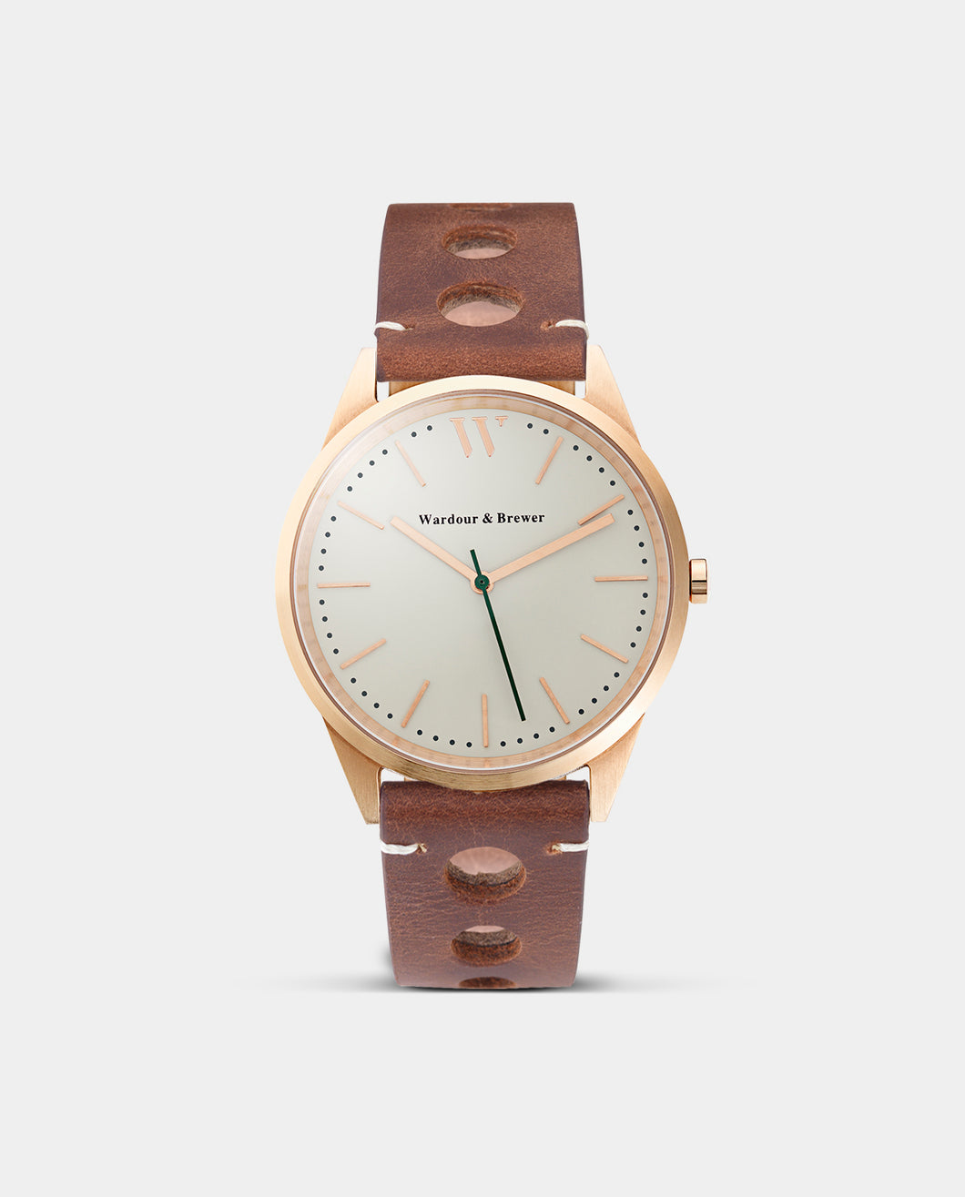 The Original 40mm Rose Gold – Aintree Leather
