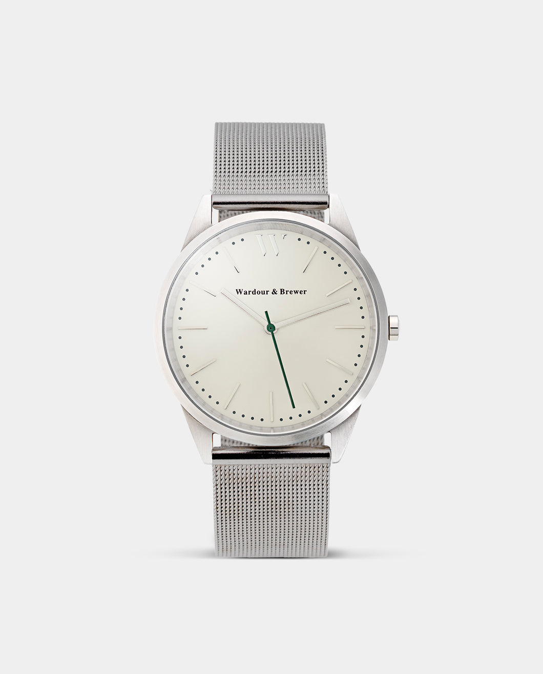 The Original 40mm Silver – Metal Mesh