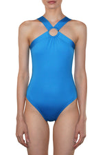 Elizabeth - High Neck Maillot