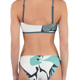 LILY High Neck Bikini (wt Triangle Bottom) - Mei L'ange