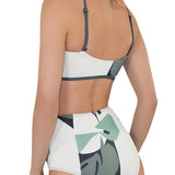 LILY High Neck Bikini (wt High Waist Bottom) - Mei L'ange
