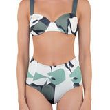 OLIVIA Structured Bikini (wt High Waist Bottom) - Mei L'ange