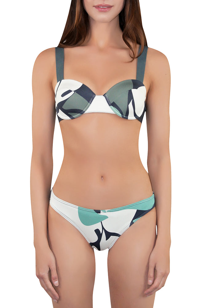 OLIVIA Structured Bikini (wt Triangle Bottom)