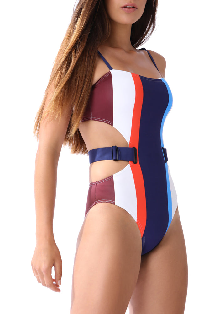 PIA - Oval Grommet Maillot - Mei L'ange