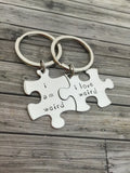 I am weird I love weird, Couples Keychains, Couples Gift Ideas, Christmas Gift , Anniversary Gift