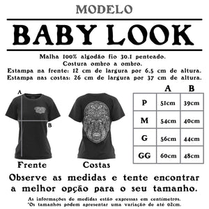 CARRANCA | Camiseta Baby Look