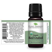 Load image into Gallery viewer, Basil Linalool Organic Essential Oil