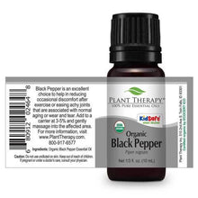 Load image into Gallery viewer, Black Pepper Organic Essential Oil