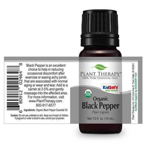 Black Pepper Organic Essential Oil