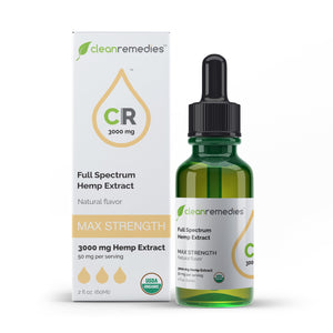 Full Spectrum Hemp Extract - CBD Oil - Natural