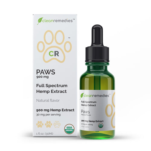 PAWS CBD Oil for Pets - 900MG Full Spectrum Hemp Extract