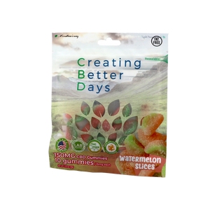 Nano-CBD Gummies Watermelon Slices