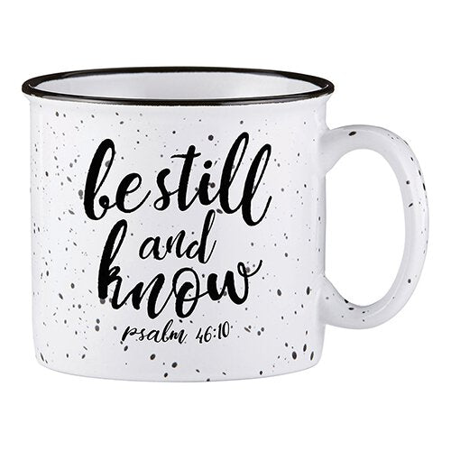 Campfire Mug - Be Still And Know