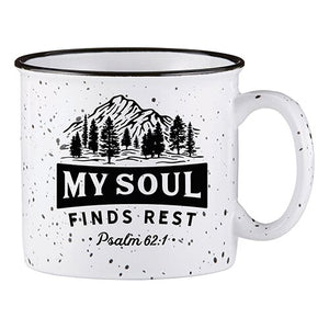Campfire Mug - My Soul Finds Rest