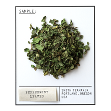 Load image into Gallery viewer, Peppermint Leaves - Caffeine-Free Herbal Variety