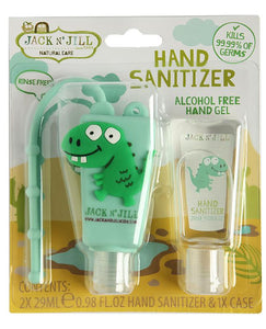 Hand Sanitizer Dino 2pk Jack N' Jill 29ml * Alcohol Free*