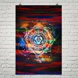 "24"" X 36"" Theory Of Harmony Poster"
