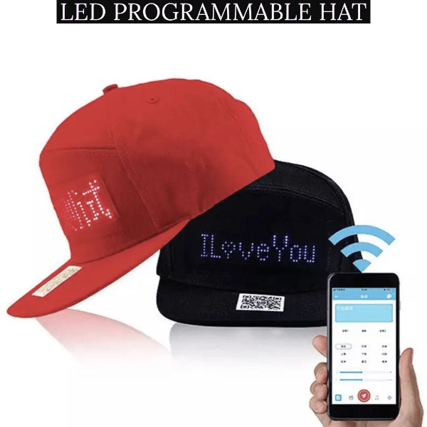 Buy 2 free shipping -  LED Message DIY Hat
