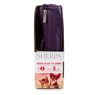Sherpa Original Deluxe Carrier Plum Small