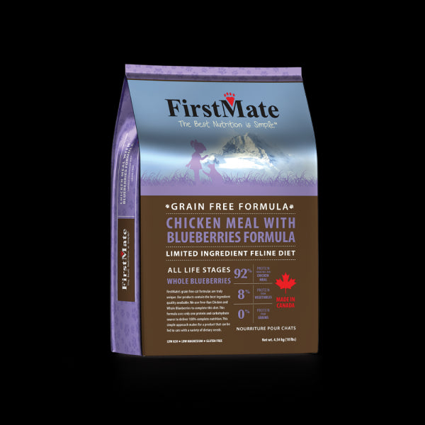 FirstMate Cat Grain Free Chicken And Blueberry