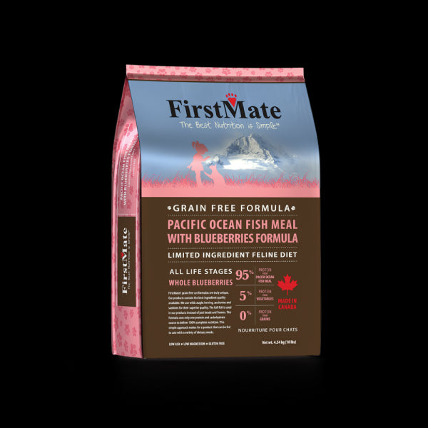 FirstMate Cat Grain Free Ocean Fish And Blueberry