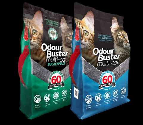 Odour Buster Multi-Cat Litter Unscented